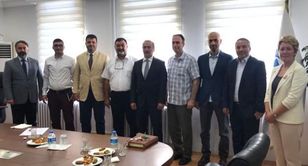 ASKON Heyeti Marmara Üniversitesi Heyeti ile çalışma toplantısı gerçekleştirdi