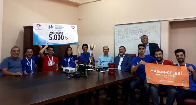 Teknofest Yarışmasında Öğrencilerimizin Başarısı